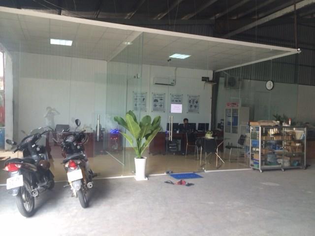 Showroom máy bế hộp Vũ Gia TP Hồ Chí Minh